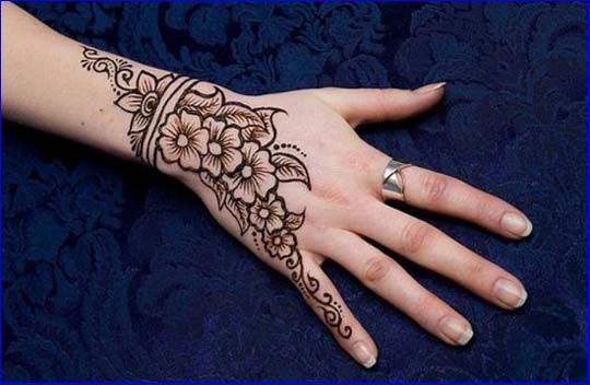 New Stylish & Perfect Mehndi/henna Designs Collection Easy to Try for weddings and parties (16)