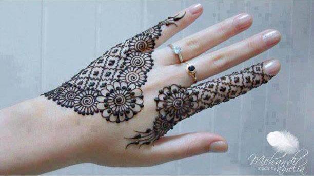 Latest Stylish Mehndi Designs For Weddings Parties 2017 18