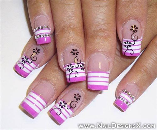 Latest & Stylish Nail Art Designs & Manicure Ideas for Girls@stylesgap.com(17)