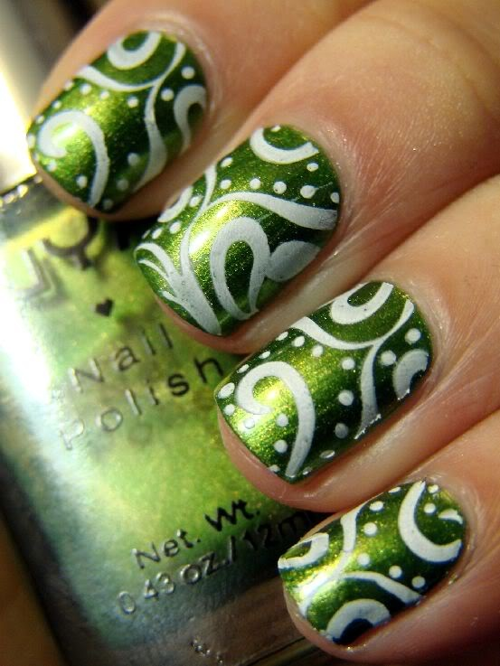 Latest & Stylish Nail Art Designs & Manicure Ideas for Girls@stylesgap.com(6)