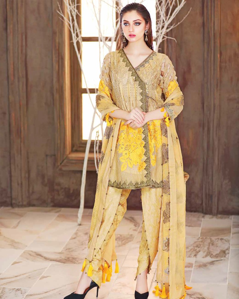 772669c26 Latest Eid ul Azha Women Dresses Collections 2018-19 Pakistani Brands