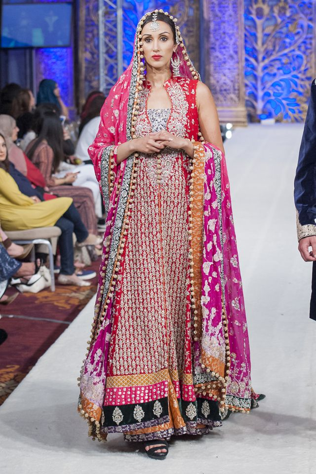 Indian Pakistani Bridal Anarkali Suits & Gowns Collection ...