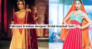 Indian & Pakistani Bridal Anarkali Suits Collection 2016-2017
