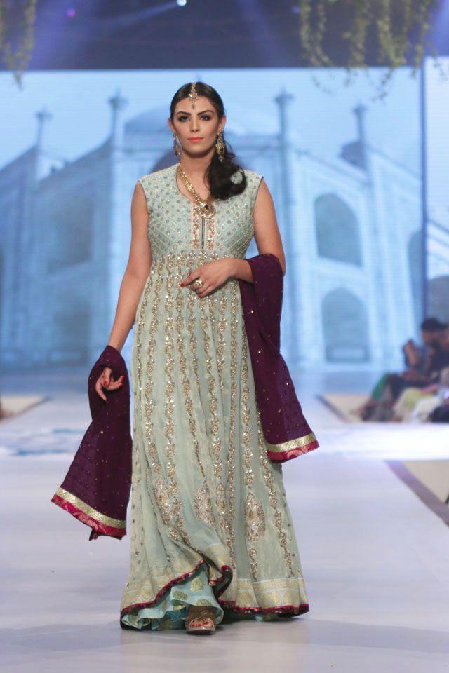 Indian & Pakistani Latest Fashion of Top Designer Fancy Party wear & Stylish Bridal Anarkali Suits for Women (5)