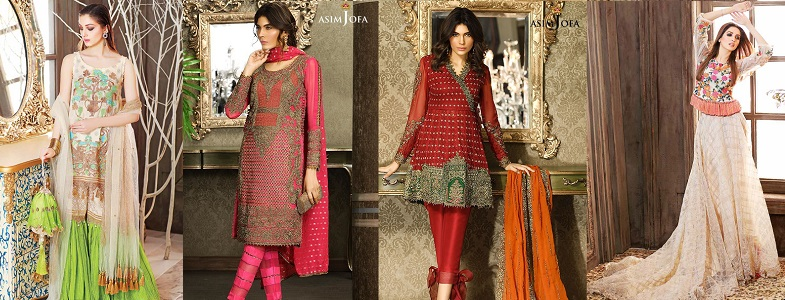 Latest Eid ul Azha Women Dresses Collections 2017-2018 Pakistani Brands