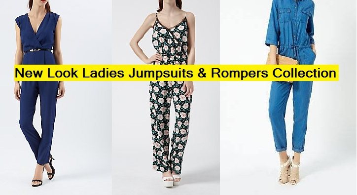 Latest Fashion Ladies Stylish & Trendy Collection of Casual Wear Rompers & Jumpsuits by New look