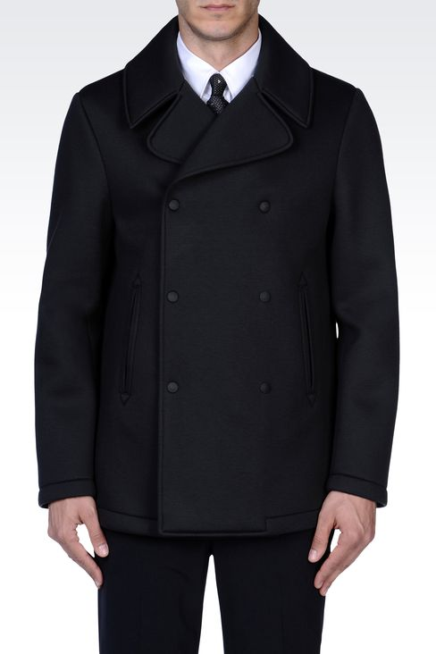 Latest Fashion Men's Outerwear Winter Coats and Jackets Collection By Armani  (15)