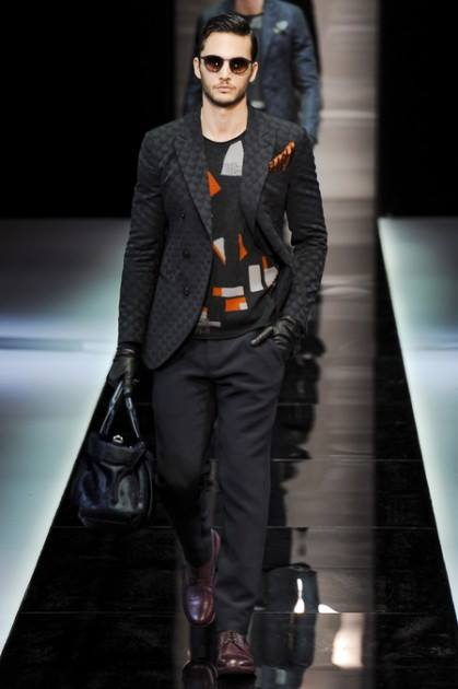Latest Fashion Men's Outerwear Winter Coats and Jackets Collection By Armani (3)