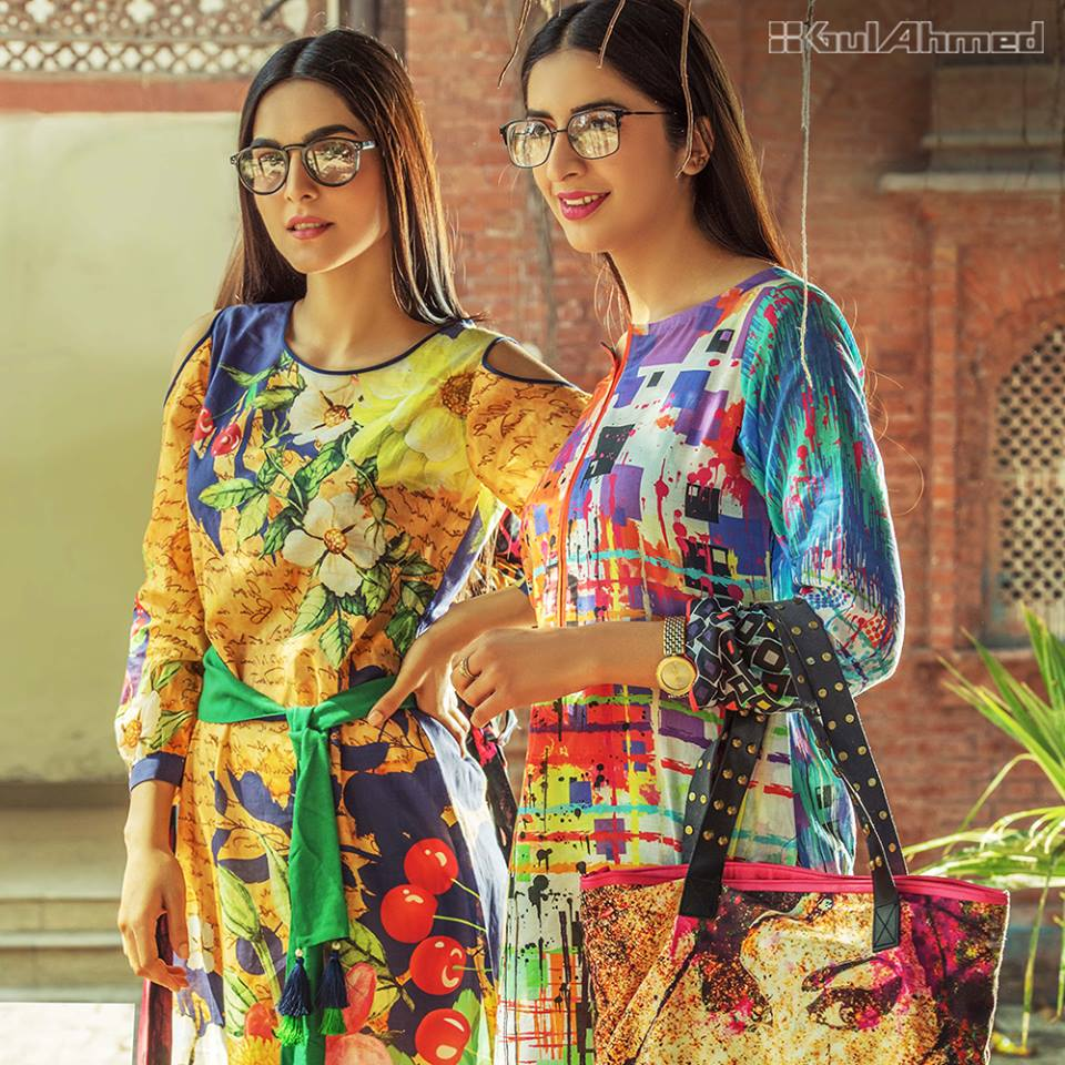 Latest Ladies Summer Shirts Gul Ahmed Yolo Collection (19)