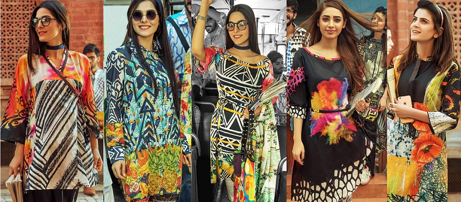 Latest Ladies Summer Shirts Gul Ahmed Yolo Collection