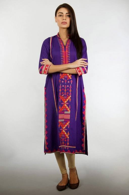 Latest Women Best Pakistani & Indian  Winter Dresses Designs Collection 2014-2015 (1)