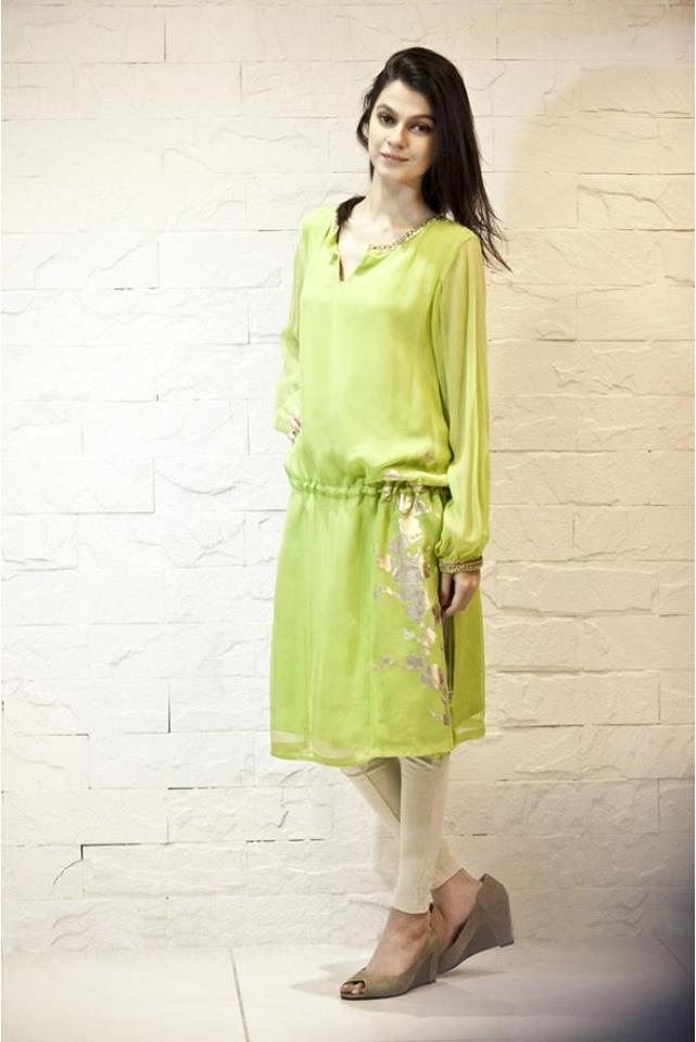 Latest Women Best Pakistani & Indian  Winter Dresses Designs Collection 2014-2015 (11)