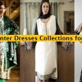 Latest Women Best Pakistani & Indian  Winter Dresses Designs Collection 2014-2015