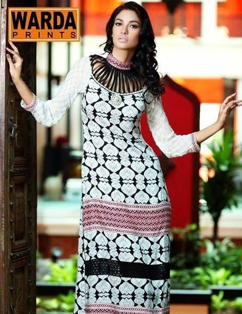 Latest Women Best Pakistani & Indian  Winter Dresses Designs Collection 2014-2015 (17)