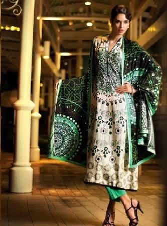 Latest Women Best Pakistani & Indian  Winter Dresses Designs Collection 2014-2015 (18)