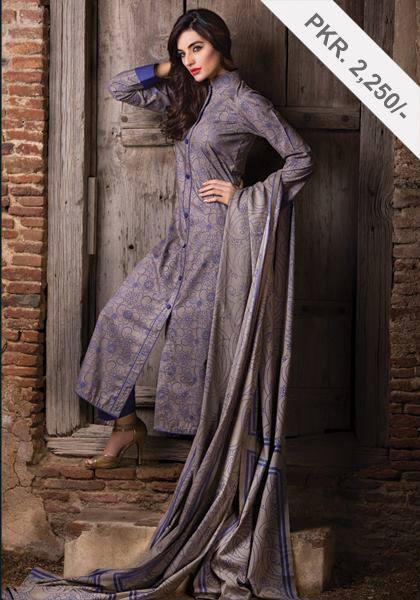 Latest Women Best Pakistani & Indian  Winter Dresses Designs Collection 2014-2015 (19)