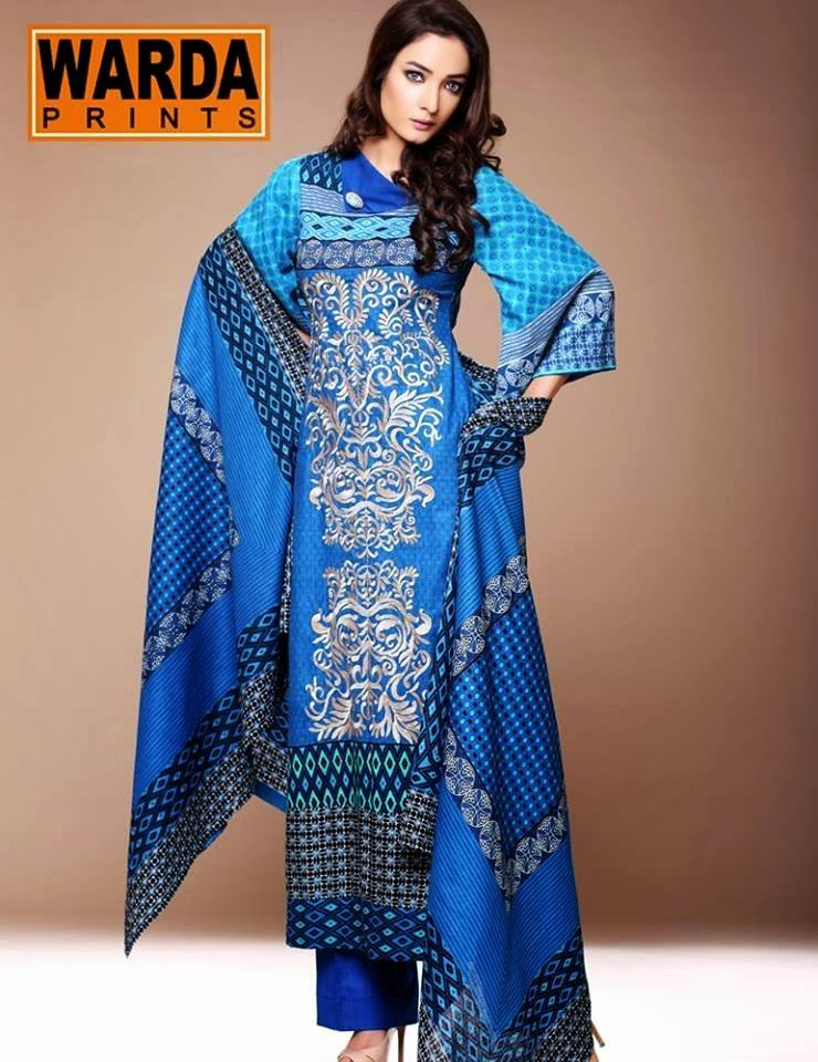 Latest Women Best Winter Dresses Designs Collection 2014-2015