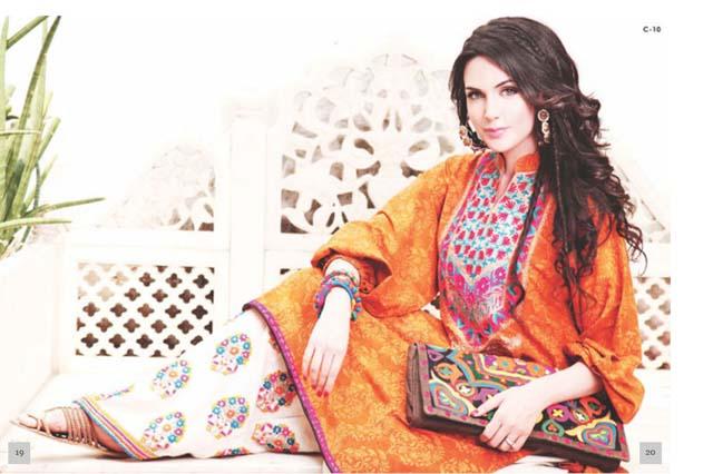 Latest Women Best Pakistani & Indian  Winter Dresses Designs Collection 2014-2015 (4)