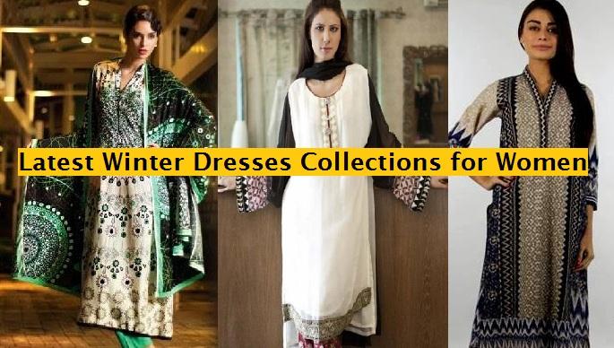 Latest Women Best Pakistani & Indian  Winter Dresses Designs Collection 2014-2015