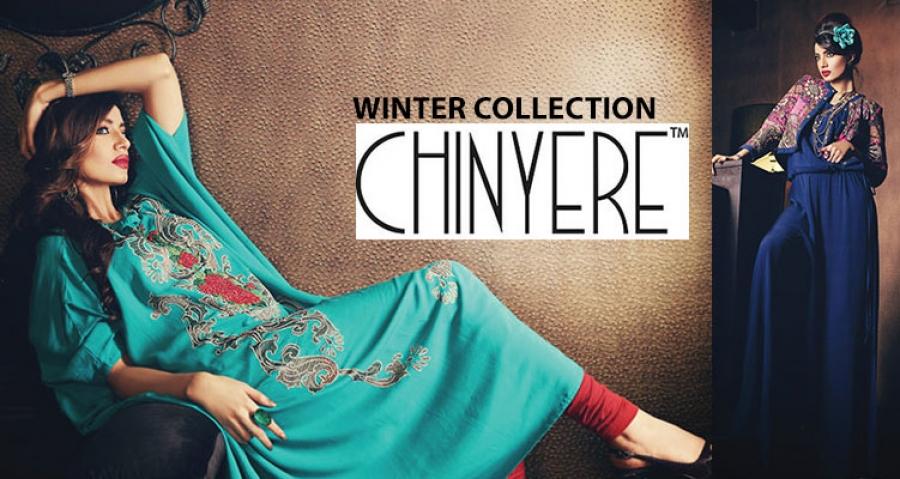 Latest Women Best Winter Dresses Designs Collection 2014-2015