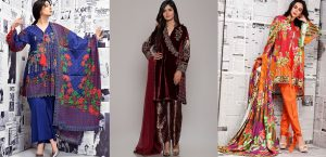 Latest Women Best Winter Dresses Designs Collection 2018-19