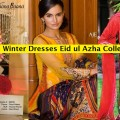 Latest Women Eid ul Azha Winter Fancy & Stylish Dresses Collections by Pakistani Famous Brands & Designers 2014-2015 (3)