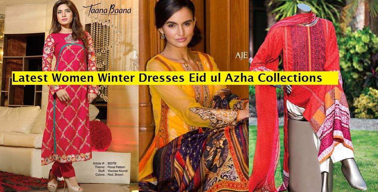 Latest Women Dresses Eid ul Azha Winter Fall Collections 2014-2015