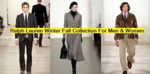 Ralph Lauren Latest Fall Winter Coats and Western Dresses Collection for Men and Women