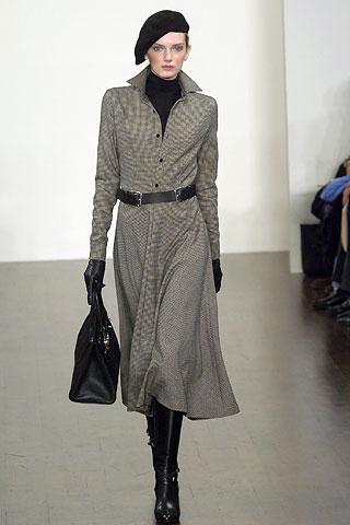 Ralph Lauren Latest Fall Winter Coats And Western Dresses