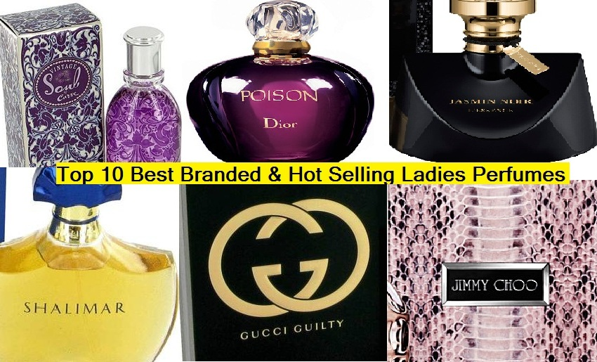 Top 10 Best Branded Ladies Perfumes of all Time – Hot Selling Brands (10)