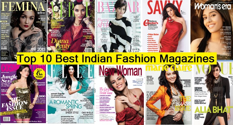 Top 10 Best Indian Fashion & Lifestyle magazines