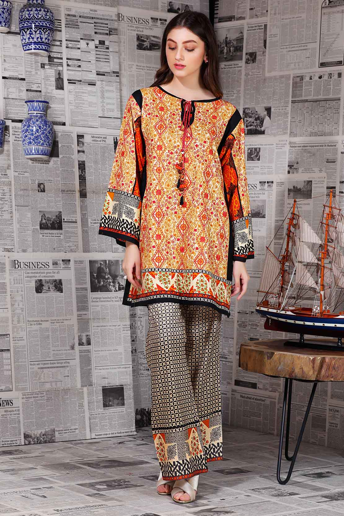 Latest Women Best Winter Dresses Designs Collection 2018-19