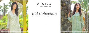 Zeniya Lawn Embroidered Pret Suits Eid Collection 2016-2017