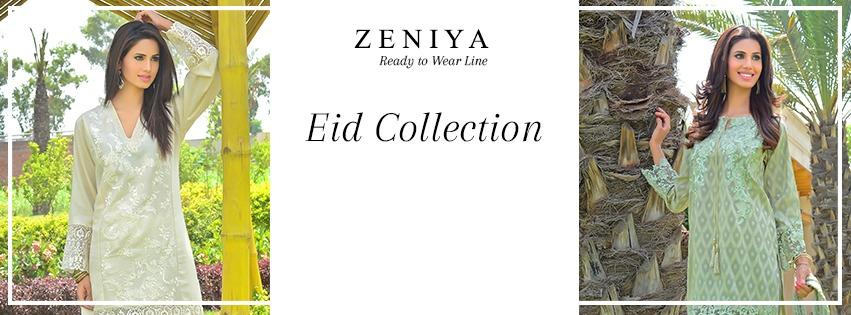 Zeniya Lawn By Deepak Perwani Pret & Printed Suits Eid Collection 2016-2017 (1)