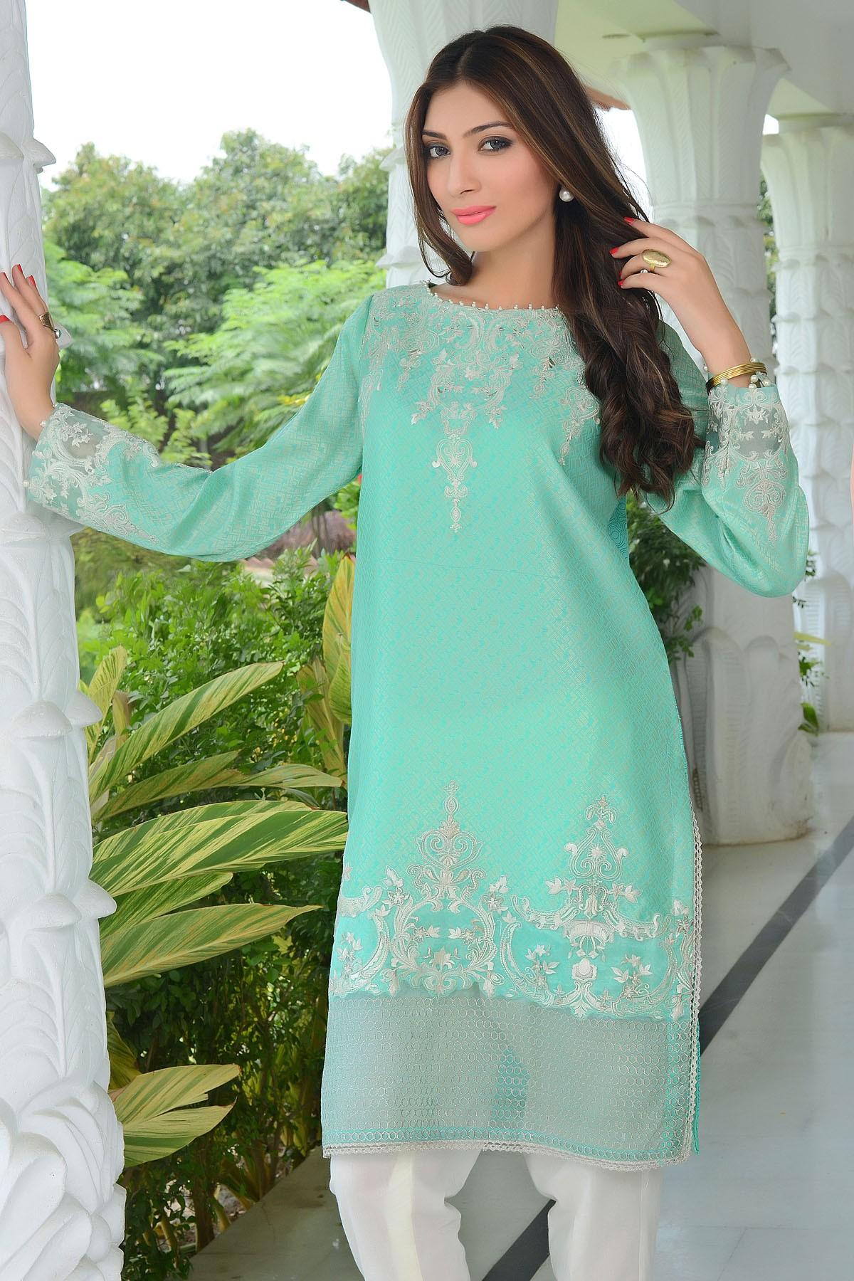 Zeniya Lawn By Deepak Perwani Pret & Printed Suits Eid Collection 2016-2017 (18)