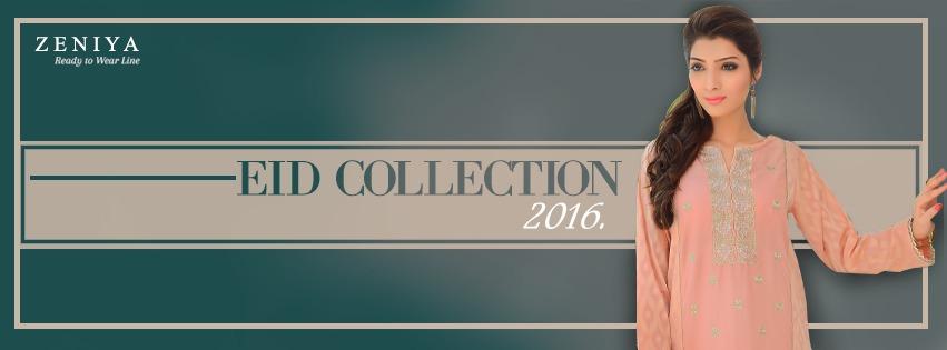 Zeniya Lawn By Deepak Perwani Pret & Printed Suits Eid Collection 2016-2017 (2)