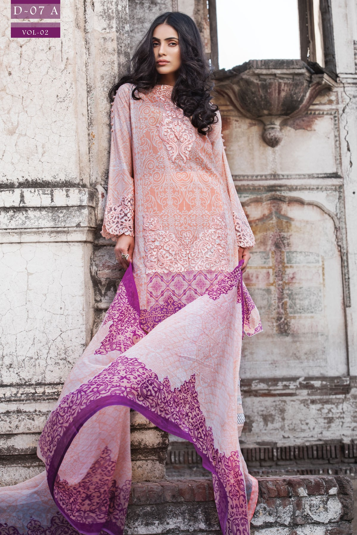 Zeniya Lawn By Deepak Perwani Pret & Printed Suits Eid Collection 2016-2017 (5)