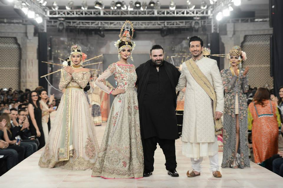 Best Pakistani Fashion Designer Bridal Collections at PFDC L'Oreal Paris Bridal Couture Week 2014-2015 - Fahad Husayn (1)
