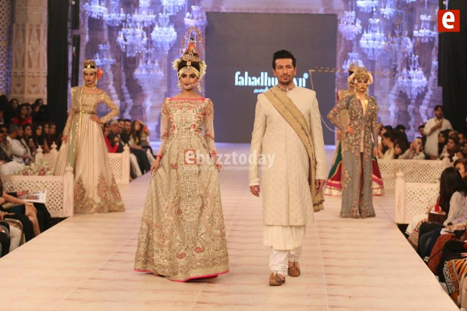 Best Pakistani Fashion Designer Bridal Collections at PFDC L'Oreal Paris Bridal Couture Week 2014-2015 - Fahad Husayn (2)