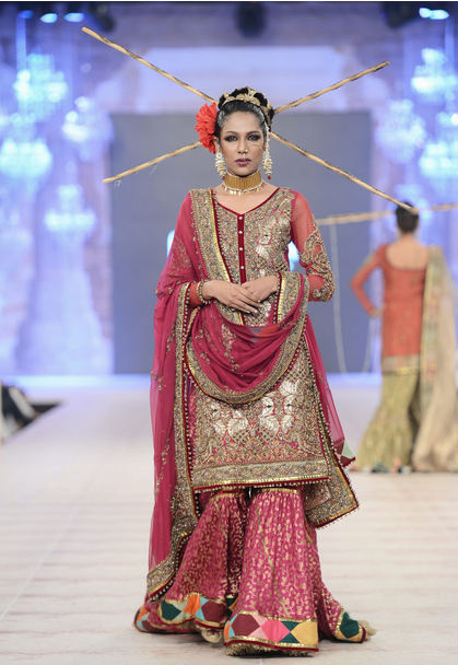 Best Pakistani Fashion Designer Bridal Collections at PFDC L'Oreal Paris Bridal Couture Week 2014-2015 - Fahad Husayn (3)