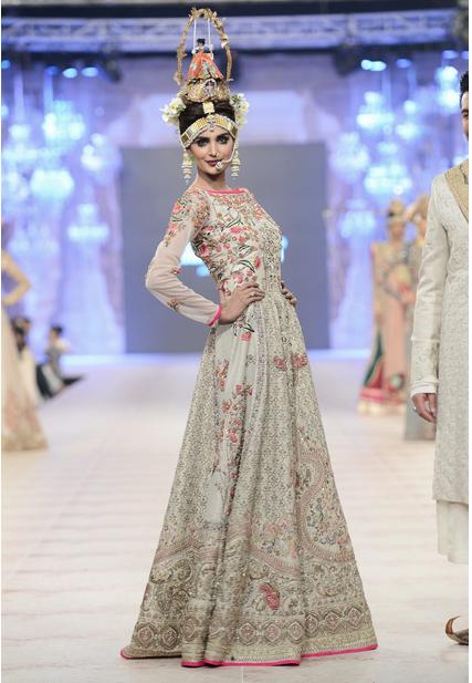 Best Pakistani Fashion Designer Bridal Collections at PFDC L'Oreal Paris Bridal Couture Week 2014-2015 - Fahad Husayn (4)
