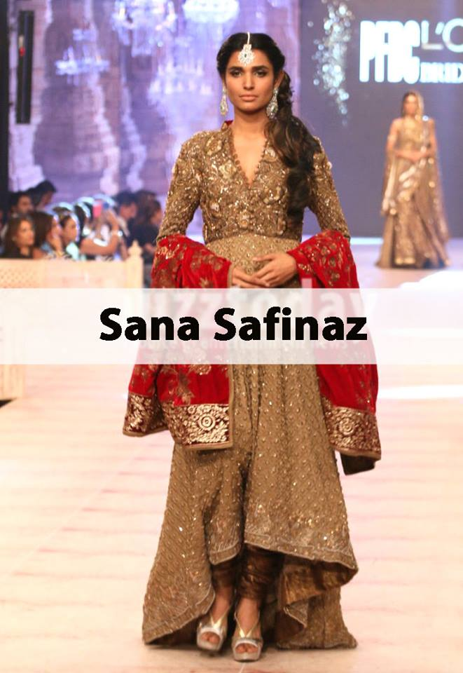 Best Pakistani Fashion Designer Bridal Collections at PFDC L'Oreal Paris Bridal Couture Week 2014-2015 - Sana Safinaz (4)