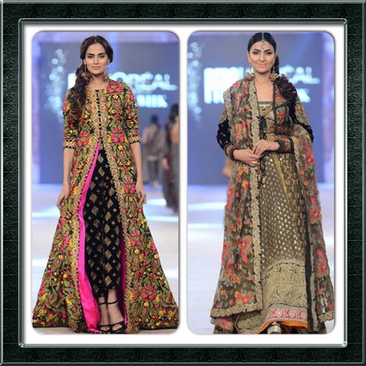 Best Pakistani Fashion Designer Bridal Collections at PFDC L'Oreal Paris Bridal Couture Week 2014-2015 - Sana Safinaz (5)