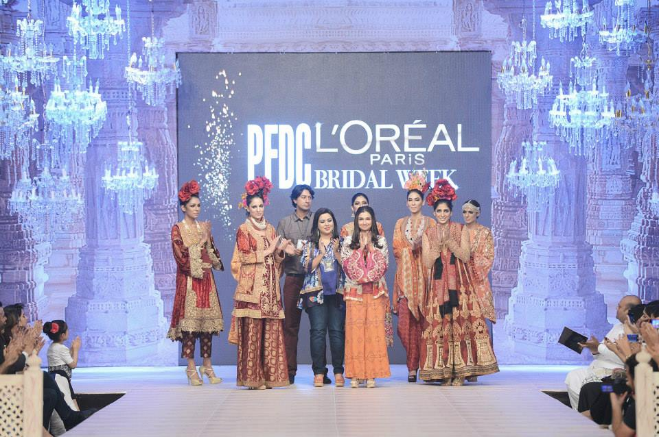 Best Pakistani Fashion Designer Bridal Collections at PFDC L'Oreal Paris Bridal Couture Week 2014-2015 - Sharmaeel Ansari (2)