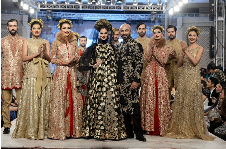 Pfdc L Oreal Paris Bridal Couture Week 2014 2015 Popular Pakistani Fashion Brands Designers Wedding Collections