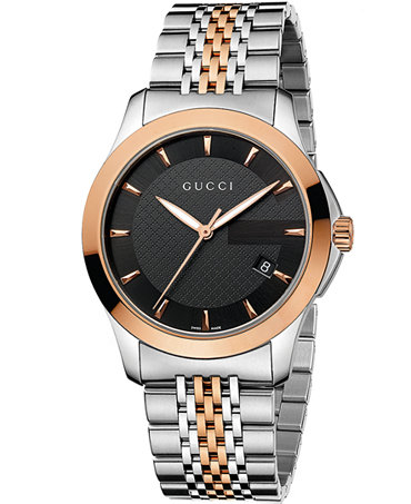 Gucci Latest Men Fashion Accessories Collection - Best Articles for Gents - Watches (2)