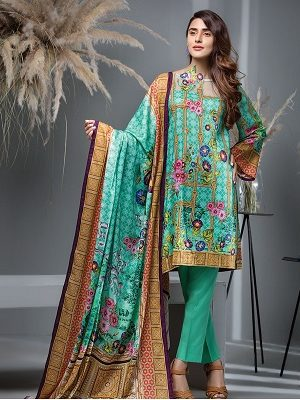 House Of Ittehad Latest Winter Linen Khaddar Dresses Designs 2018-2019