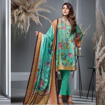 Ittehad Latest Winter Linen Khaddar Dresses Designs 2018-2019