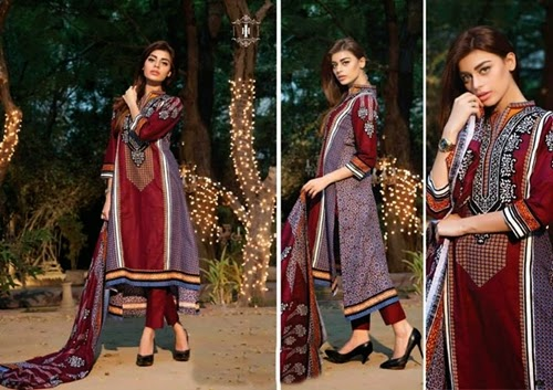 House Of ittehad Royal Embroidered Series Winter Dresses Collection 2014-2015 (12)