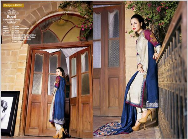 House Of ittehad Royal Embroidered Series Winter Dresses Collection 2014-2015 (3)